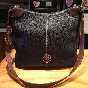 Dooney & Bourke Pebbled leather crossbody   XL